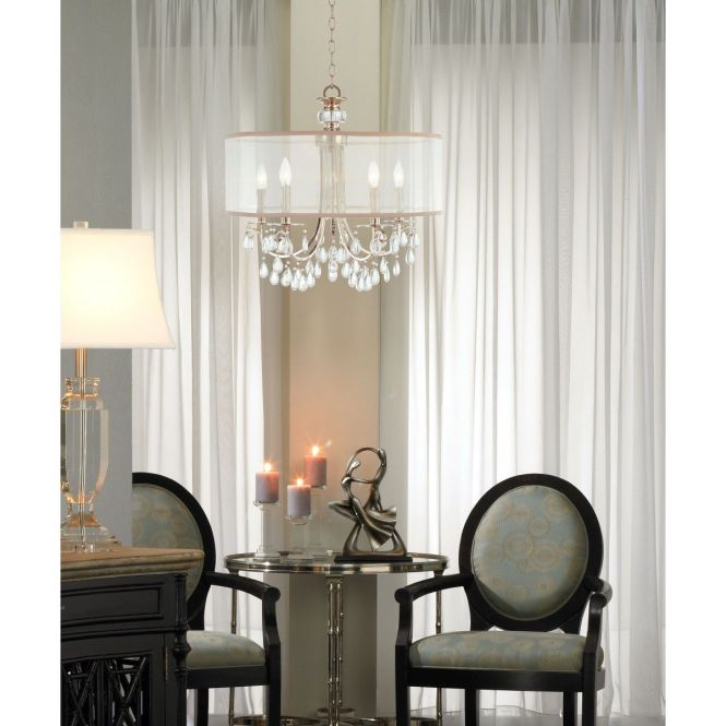 Crystorama Hampton 5 Light Chandelier Available At Design Lighting In Surrey Bc