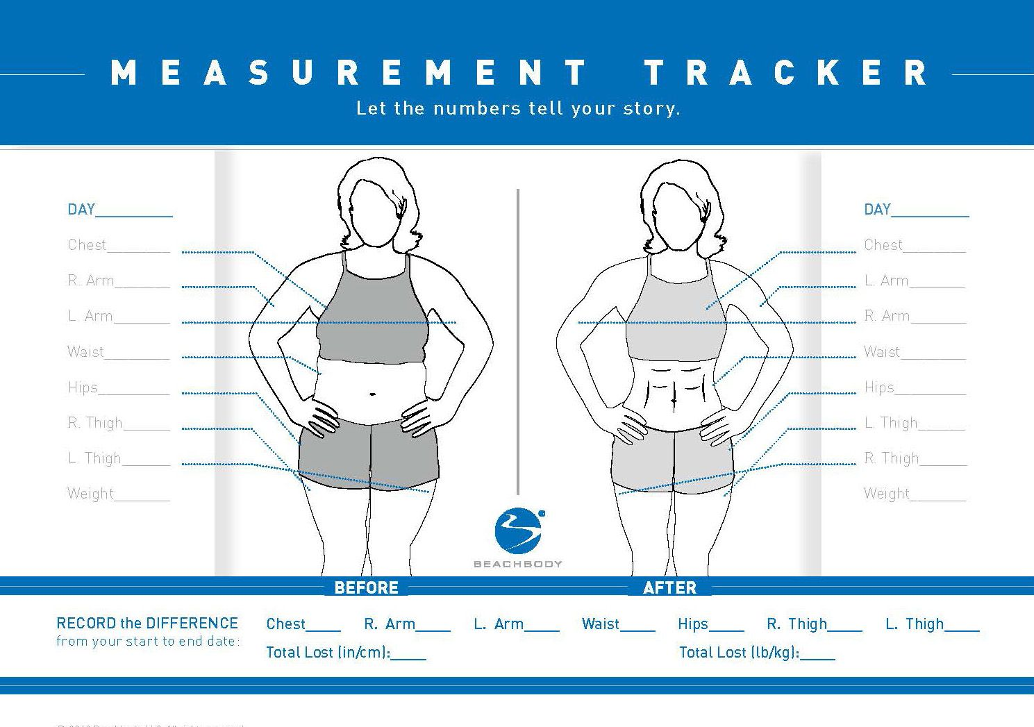 Taking Before And After Pictures And Measurements