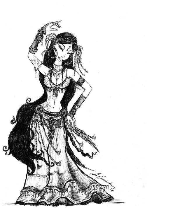 Tribal Fusion Belly Dance by Gayfruit ORIENTALISCHER
