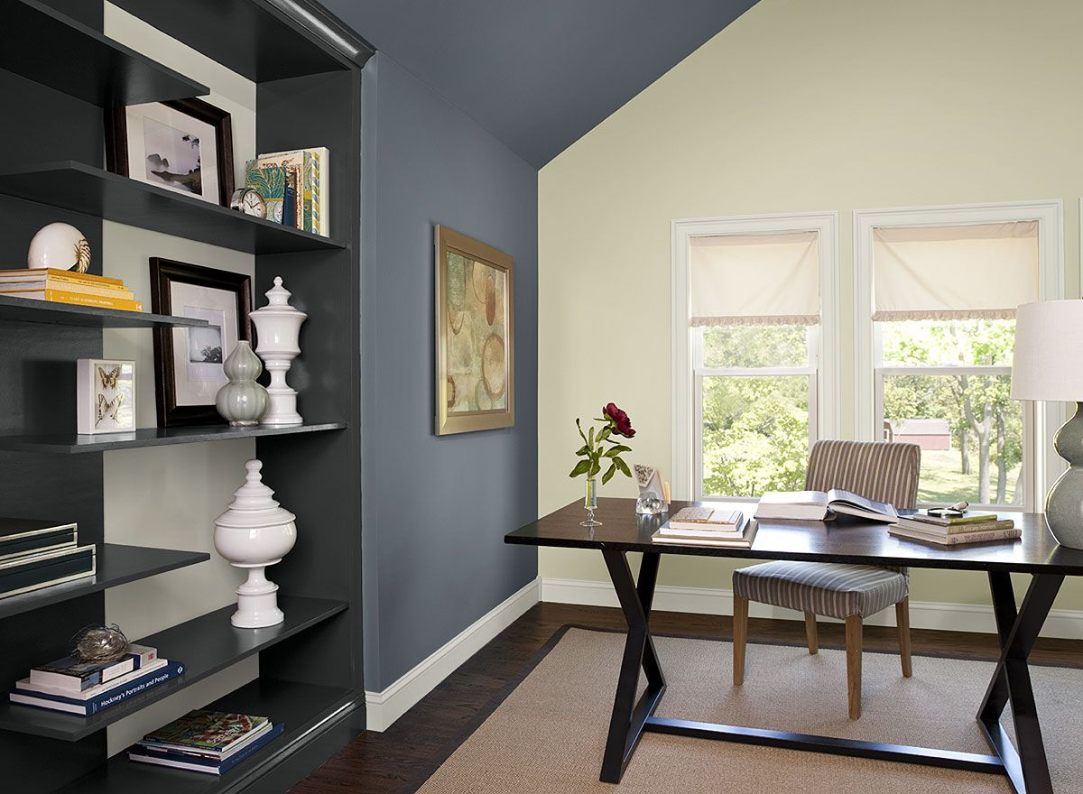 interior paint ideas and inspiration office paint and on modern office paint schemes id=70801