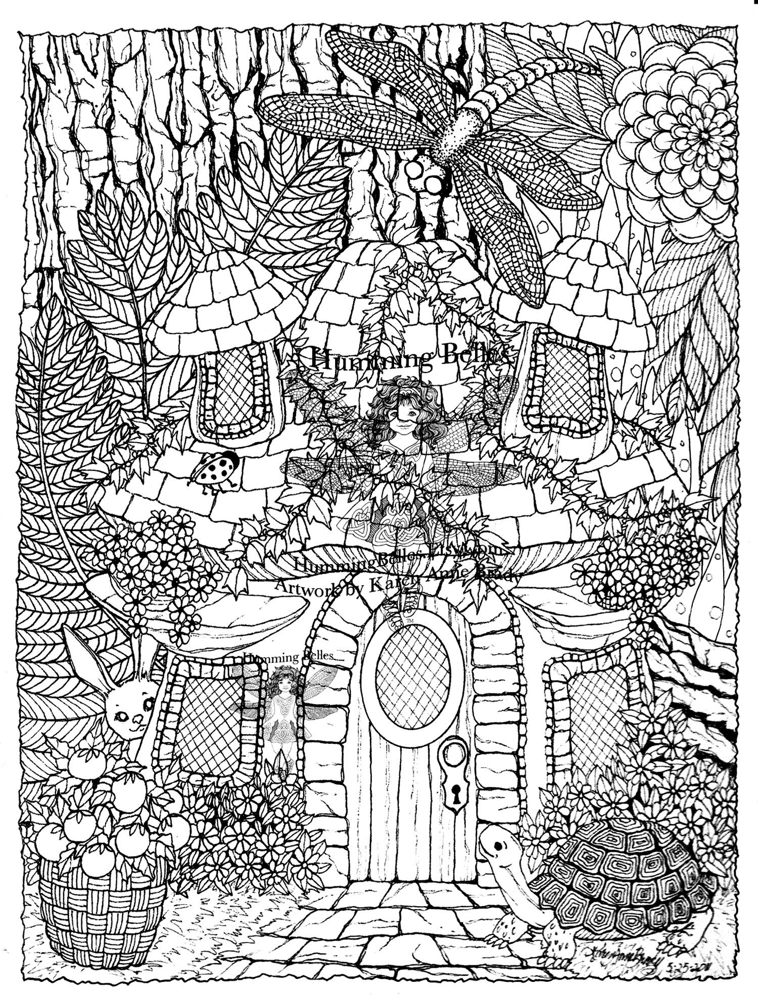 Free Coloring Page Coloring Difficult Hidden Animals Hidden Animals In A Magnificient Drawing