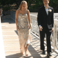 Gold and silver prom dress sequin prom dresses silver sequin and