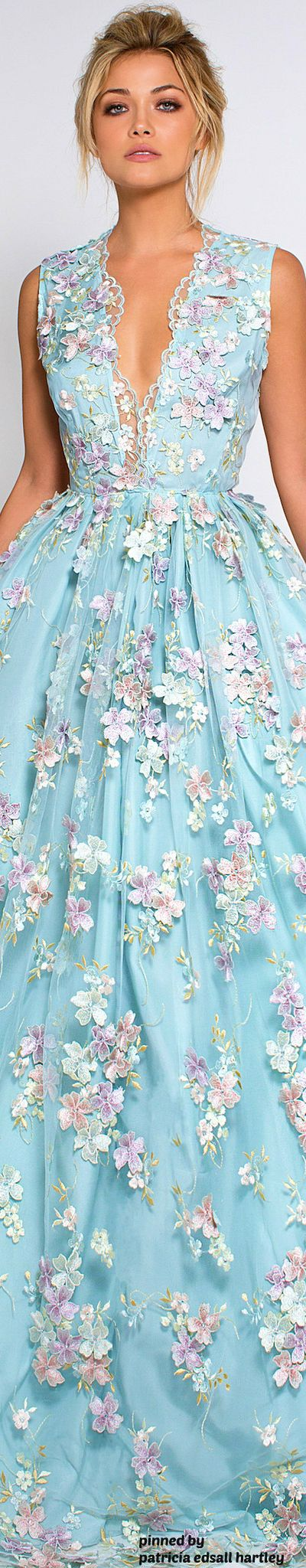 best blue dress lia itu tiwi images on Pinterest High fashion