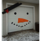 Outdoor garage decorations  Pin by Michelle Sine on christmas outdoor  Pinterest  Holidays