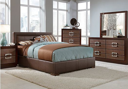 Shop For A City View 5 Pc Queen Bedroom At Rooms To Go
