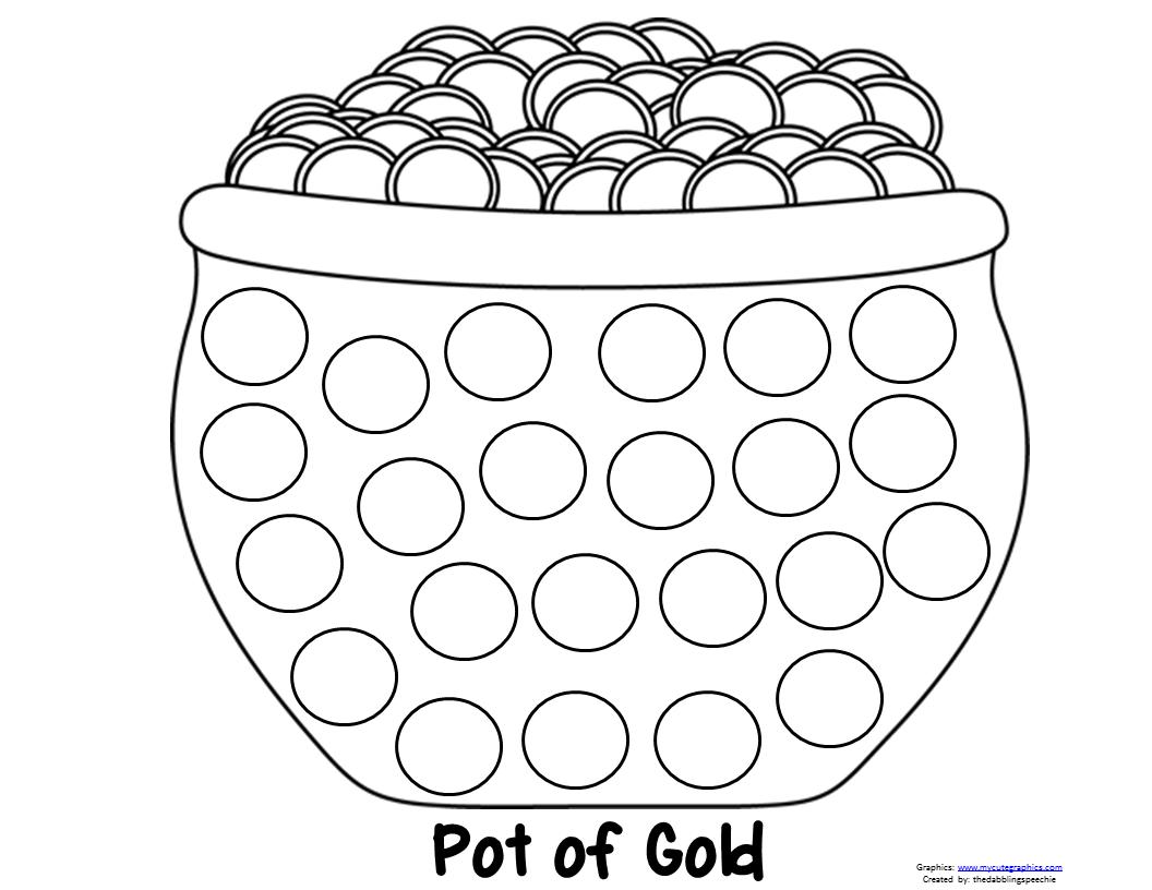 Pot Of Gold Dot Marker