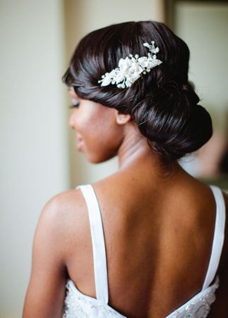 Stunning African American Wedding Hairstyles Ideas for Memorable
