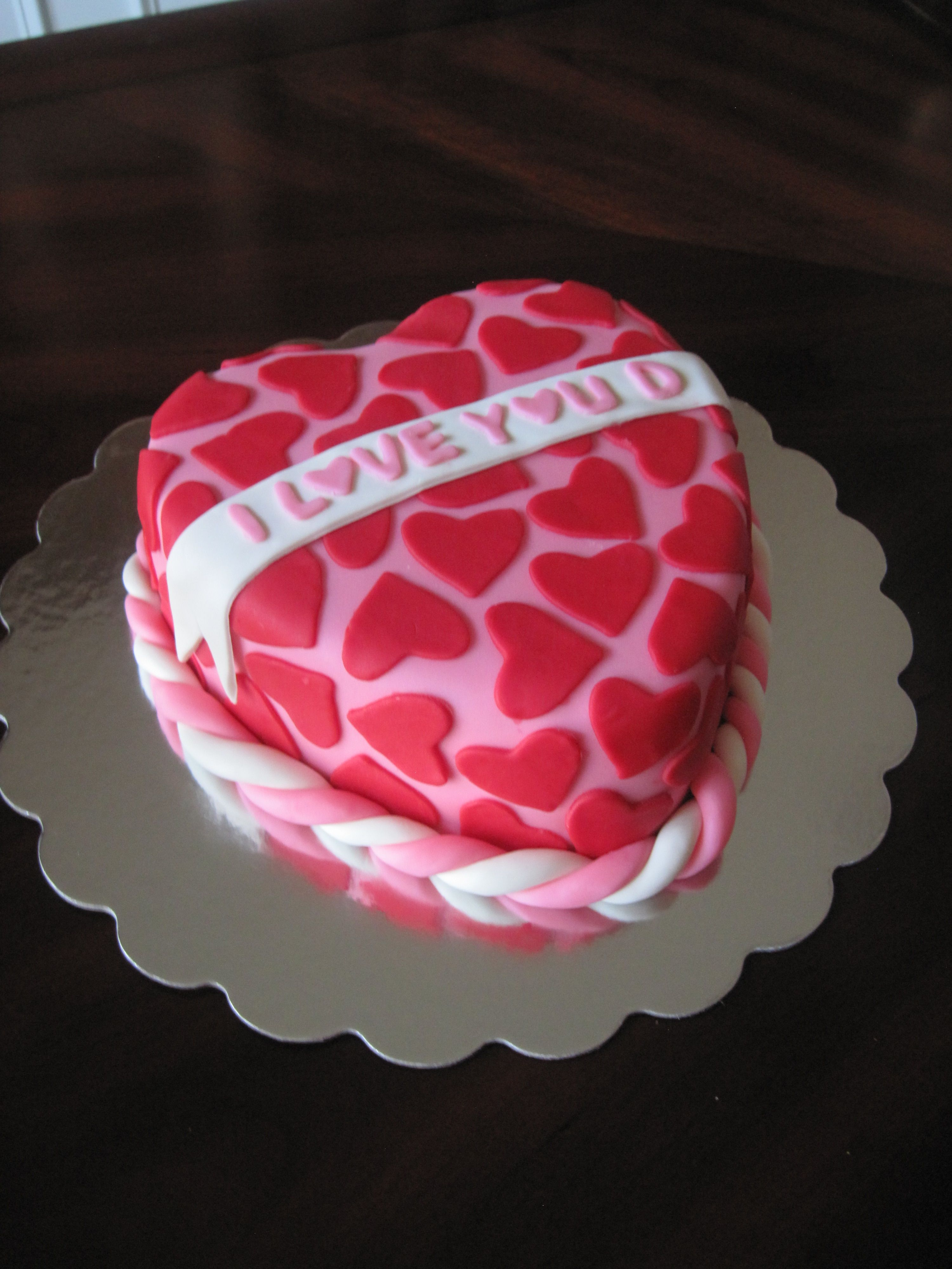 Valentine S Day Cake