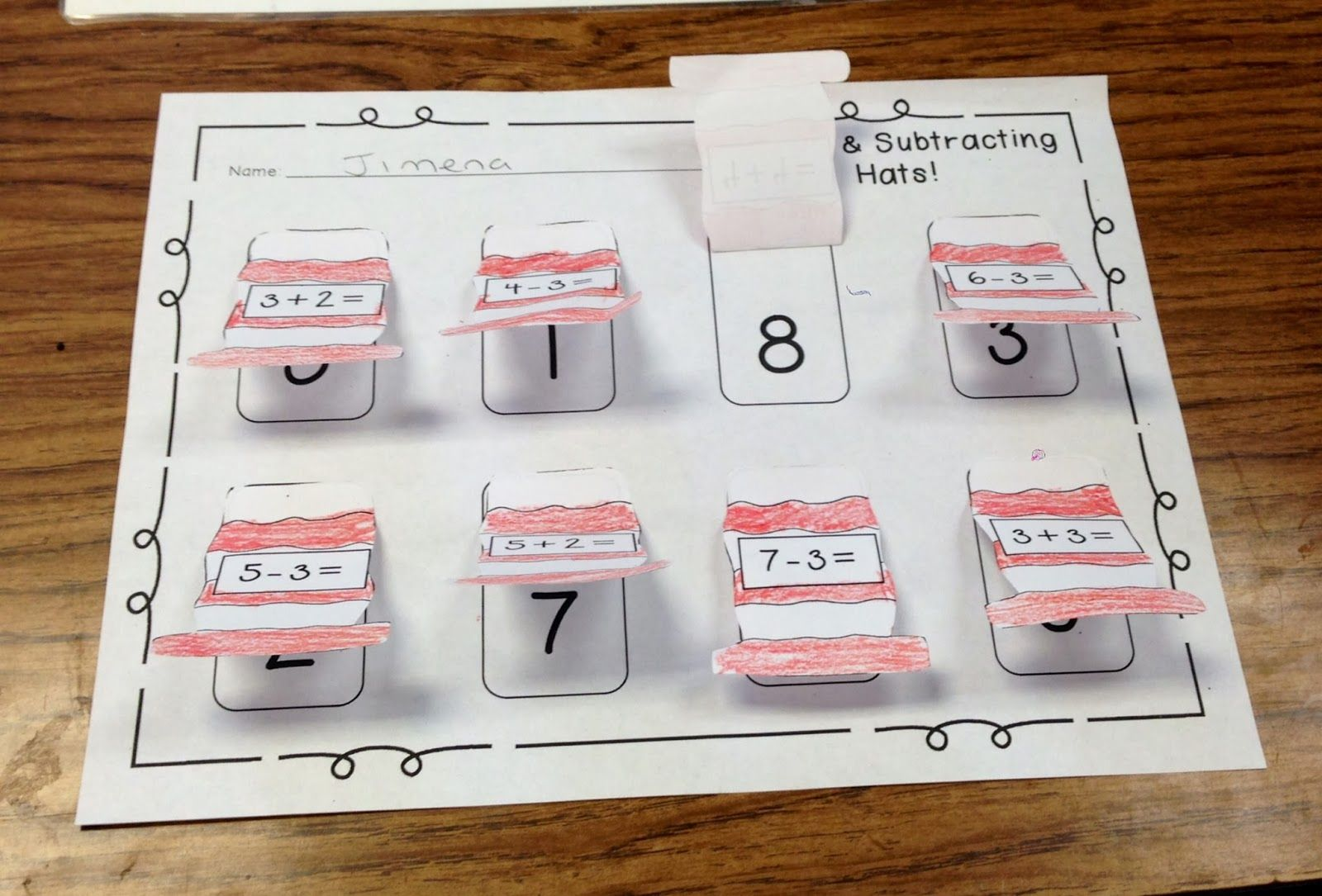 Free Addition Subtraction Dr Seuss Page