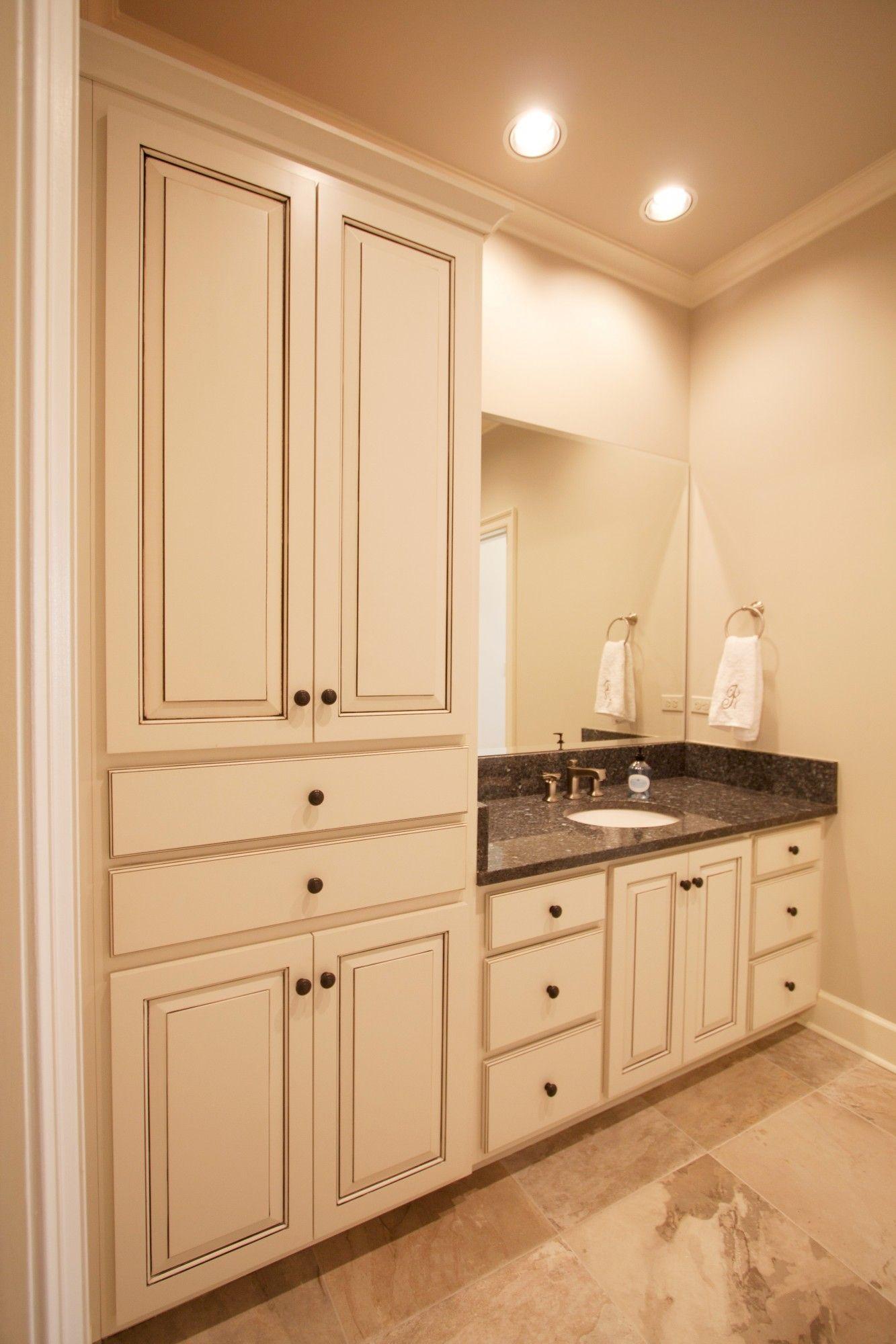 Best Kitchen Gallery: Glazed Bathroom Vanity Cabi S Northshore Millwork Llc of Accent Flat Kitchen Cabinet Door on cal-ite.com
