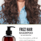 Control frizz for gorgeous smooth hair with our antifrizz shampoo