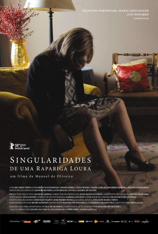 Poster do filme Singularidades de Uma Rapariga Loura