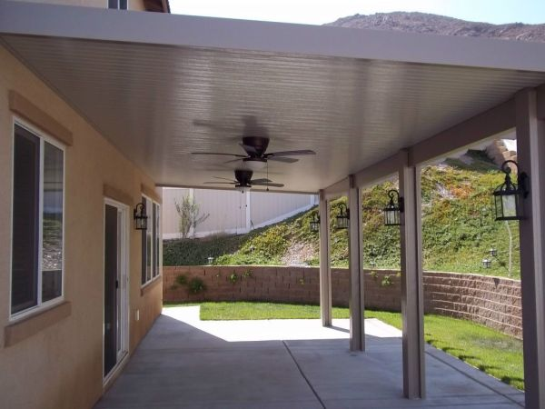 metal patio covers awnings Aluminum Patio Cover Pictures, Duralum   Awnings