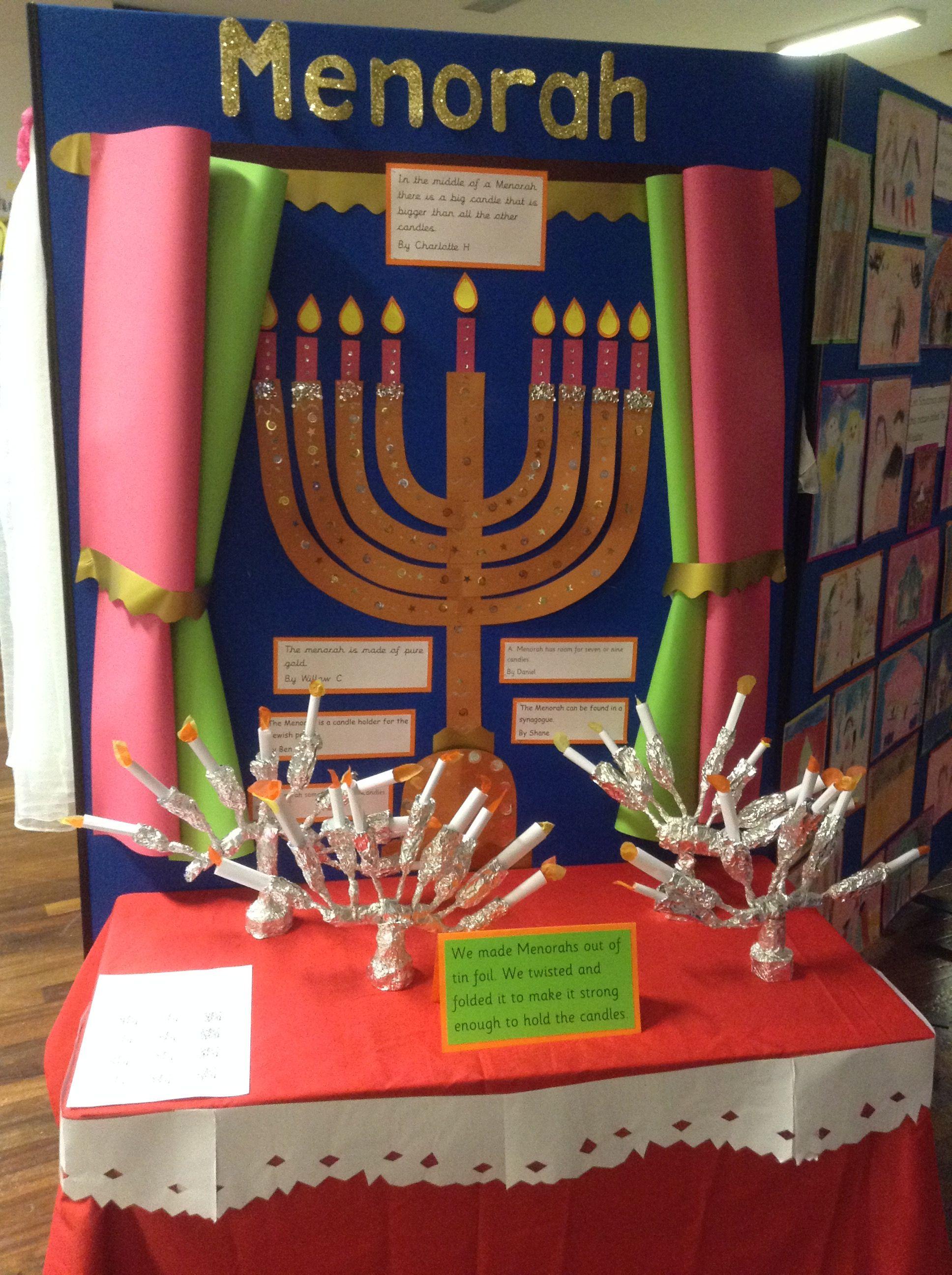 Judaism Display Menorah