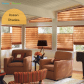 Shade and shutters offer many roman shade styles for your home