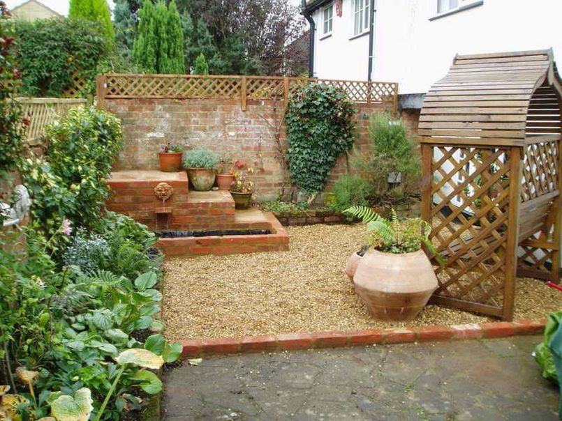 Backyard Low Cost Garden Design Low Cost Small Garden ... on Low Cost Patio Ideas id=19639