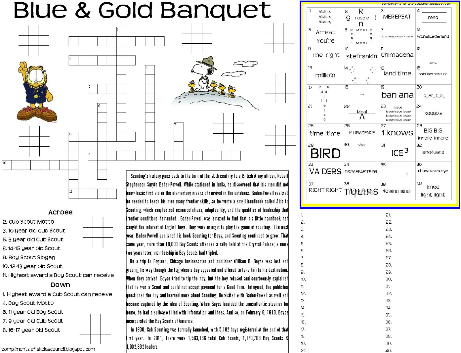 Blue And Gold Placemat Printable This Site Has Lots Of