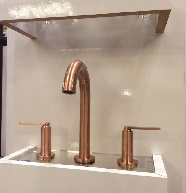 Santec faucet in Brushed Rose Gold LPG 2017 Pinterest