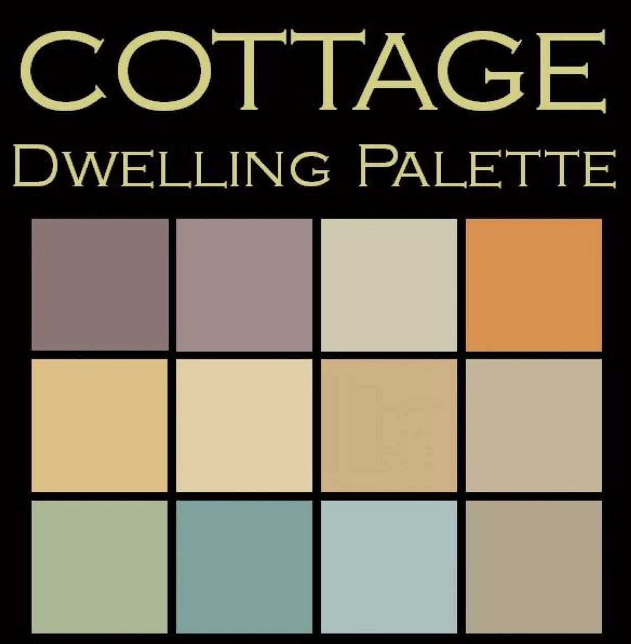 cottage dwelling palette cottage paint colors benjamin on benjamin moore interior paint chart id=31517