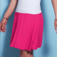Ruby ribbon fit and flair pink skirt flats dress up and minis