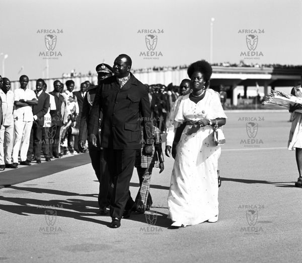 Image result for idi amin and queen of england