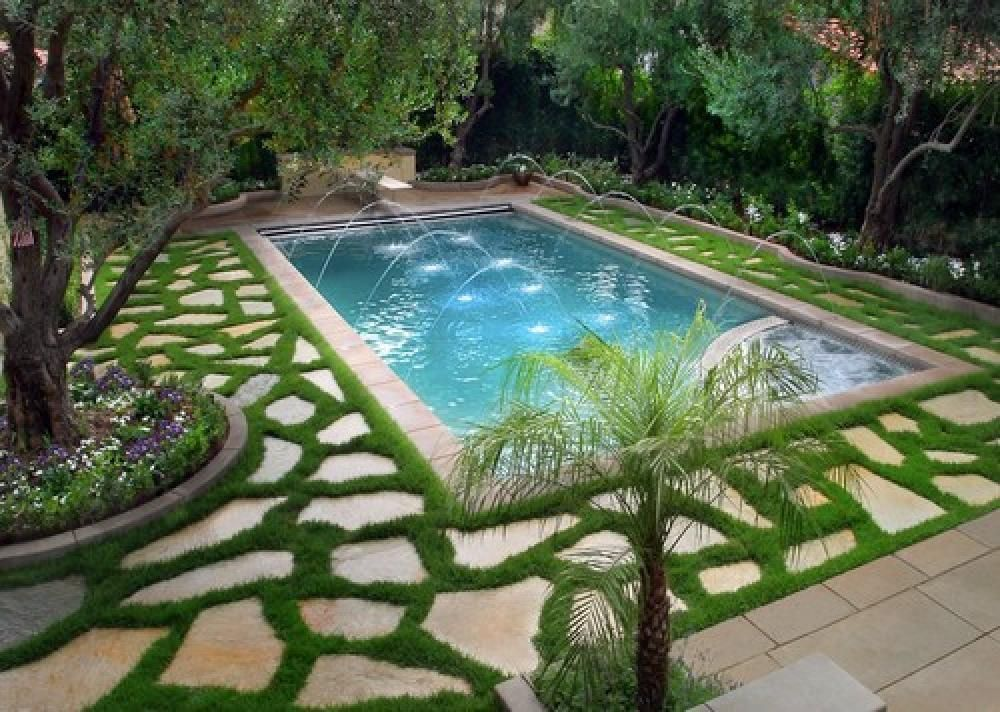 Contemporary Swimming Pool Design Pictures In Outdoor And