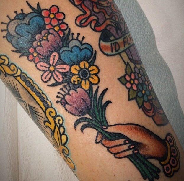 3bf57e5b50e5c Best 25 Bouquet Tattoo Ideas On Pinterest Flower Bouquet Tattoo Wildflower  Tattoo And Poppy
