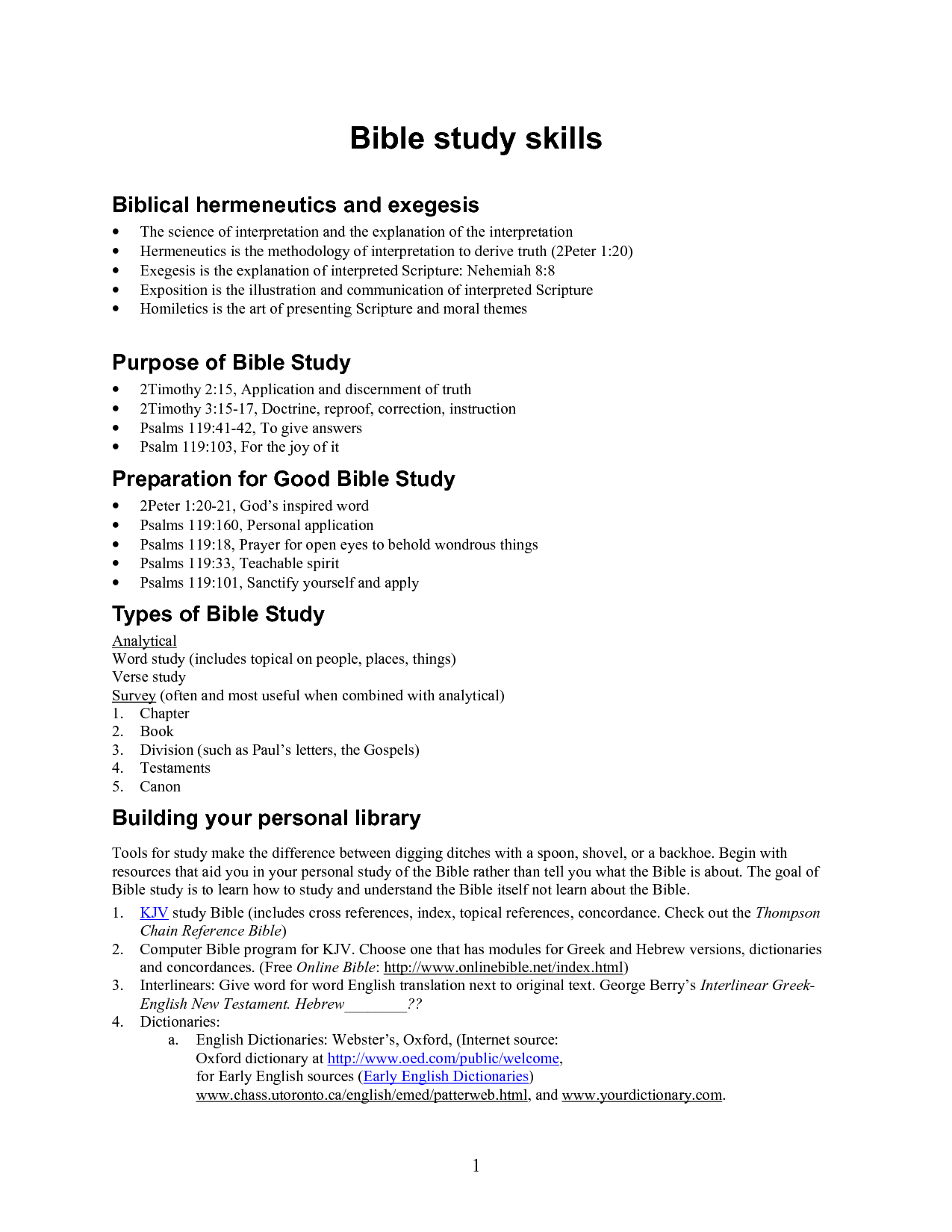 Free Bible Worksheets For Adults