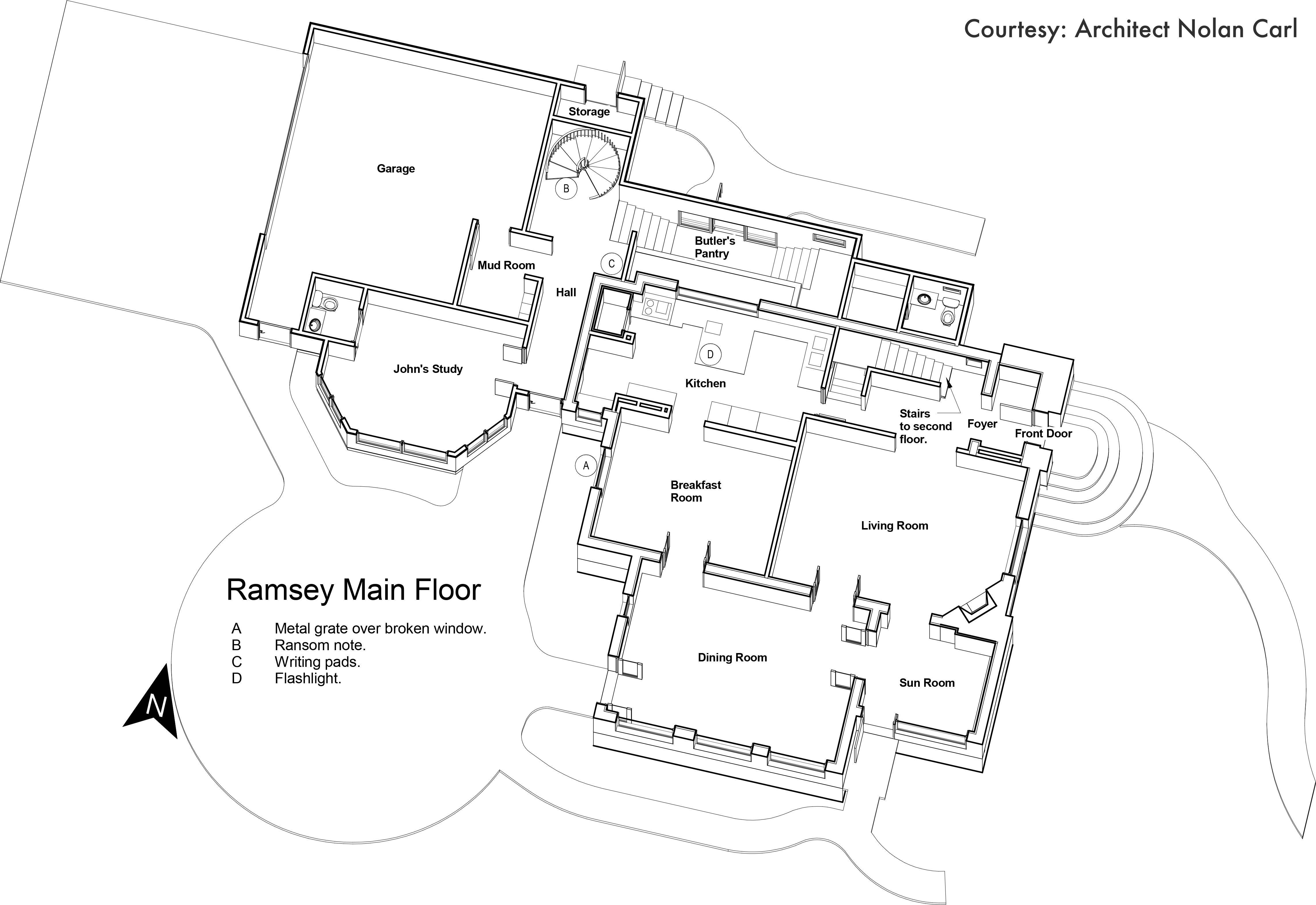 Jb Ramsey First Floor