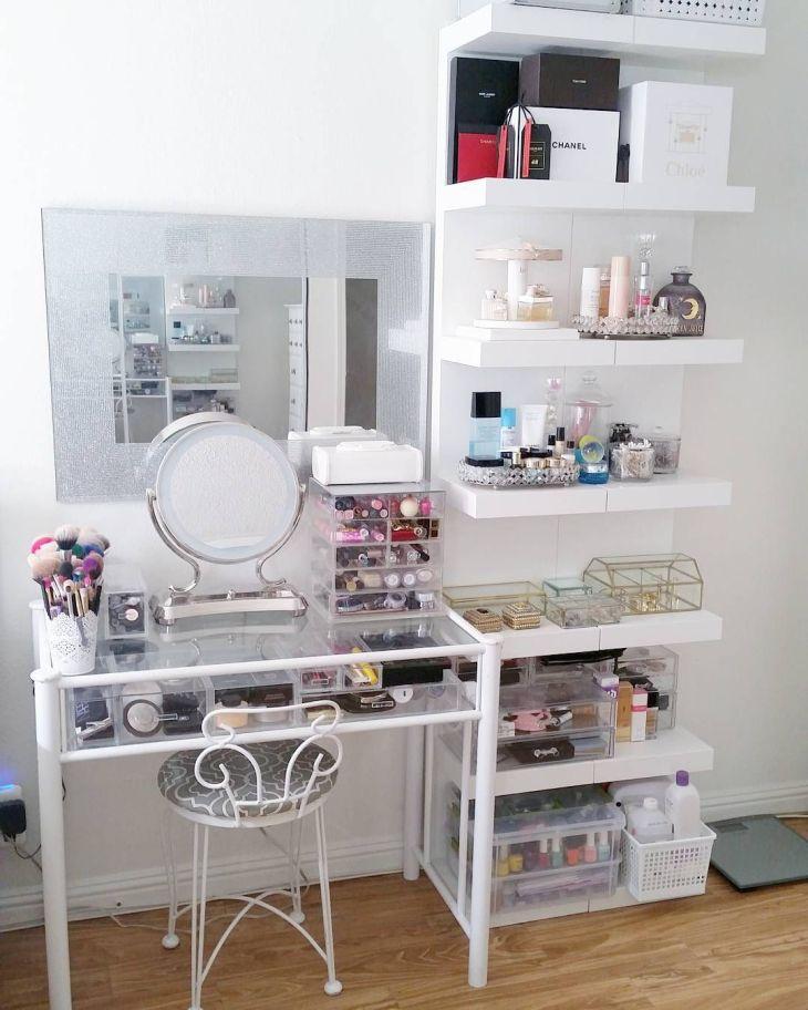 Idées Pour Avoir un Coin Beauté au Top Vanities Room and Makeup