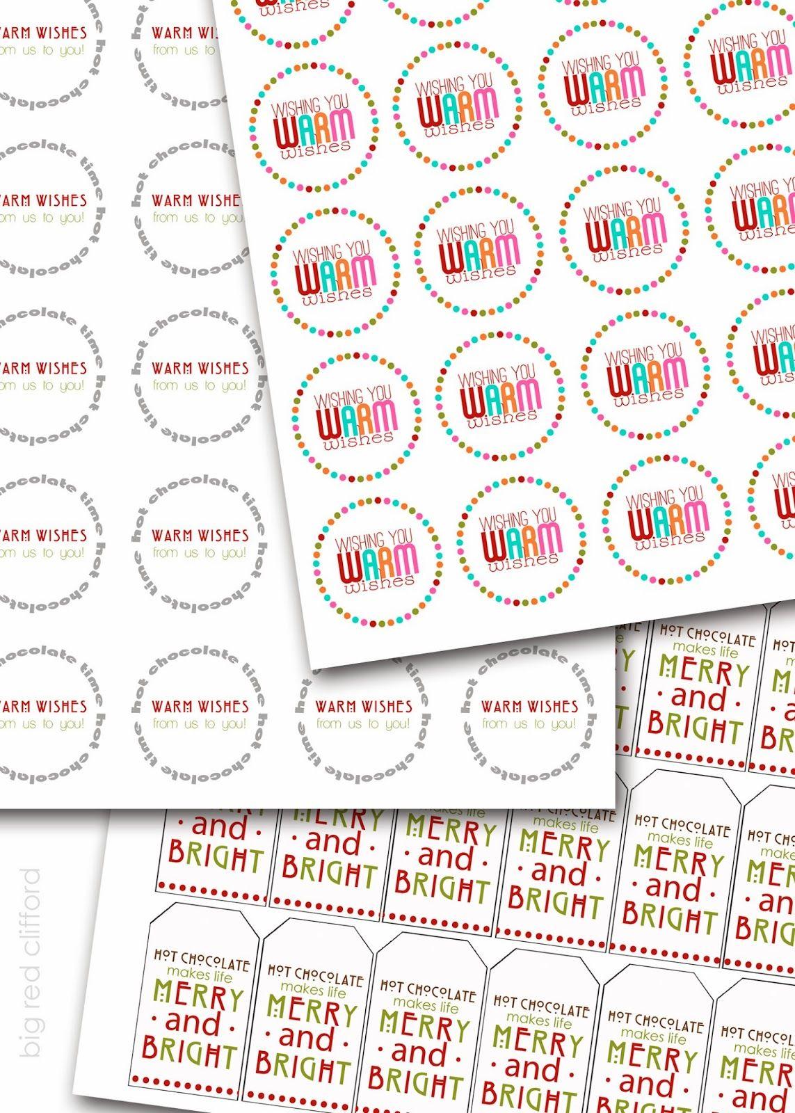 Free Printable Christmas Tags To Go On Neighbor Ts Bigredclifford