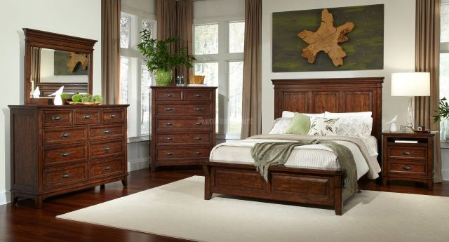 Star Valley Panel Bedroom Set Intercon Furniture