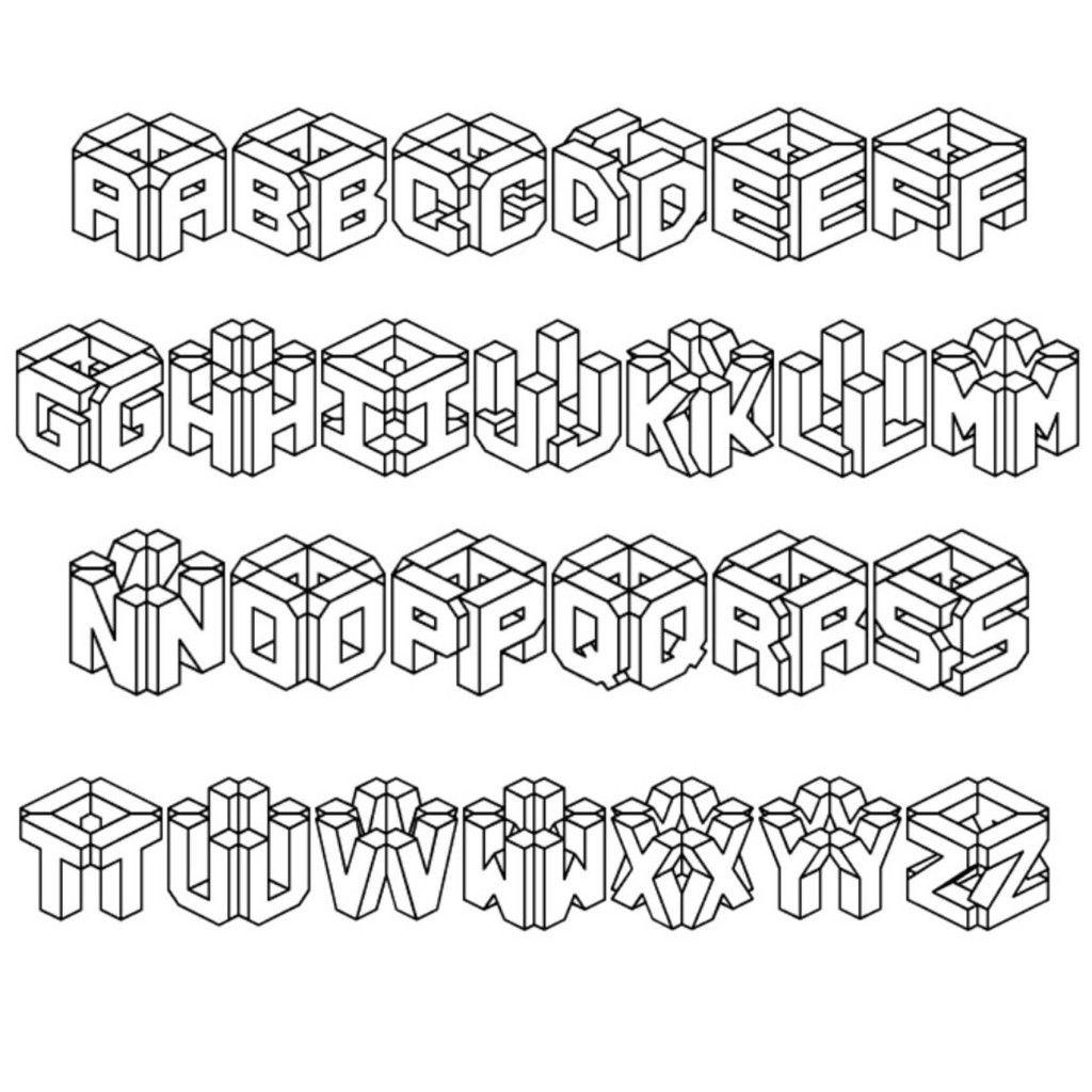 Graffiti Box Letters