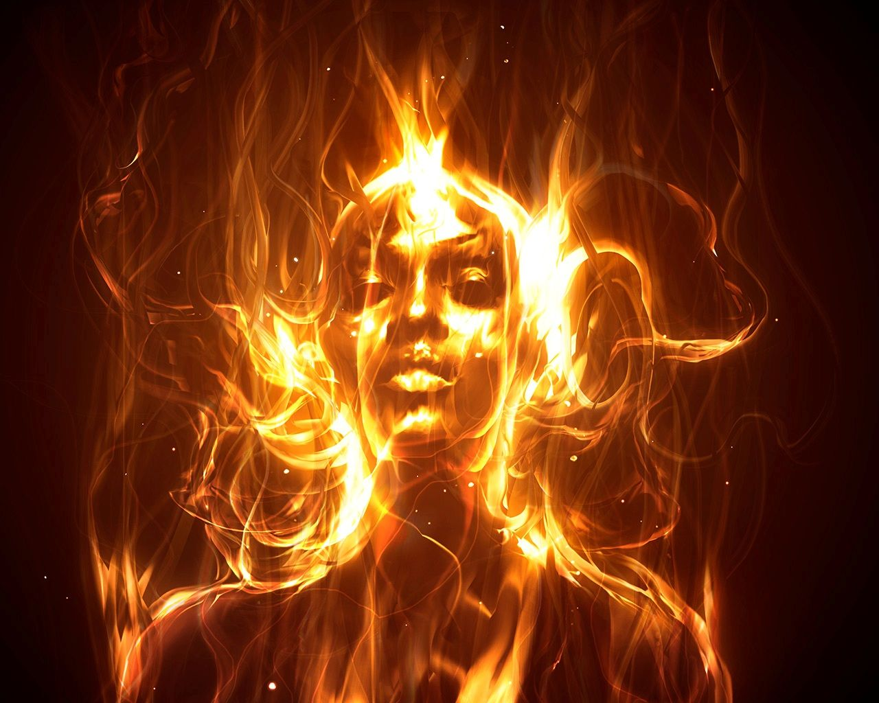 now alive with burning want, released flickering lust i