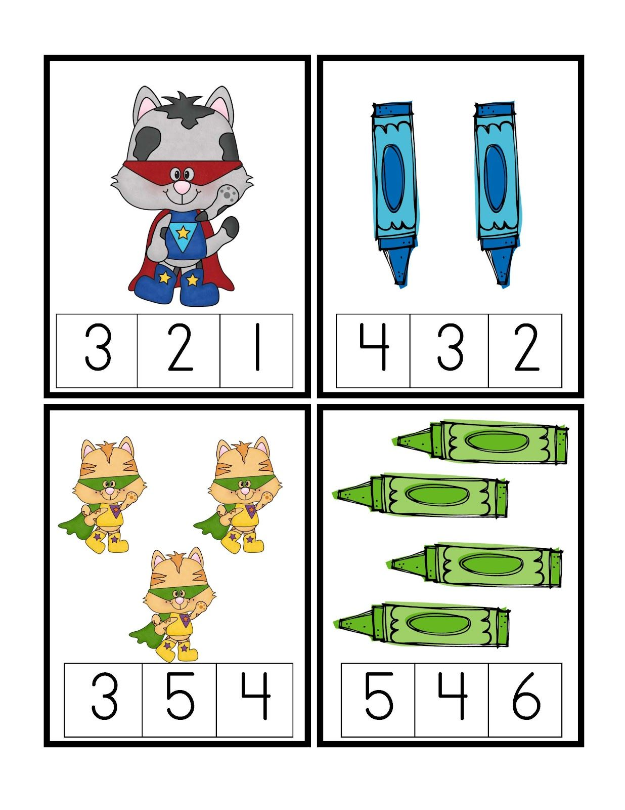 Preschool Printables Freebie
