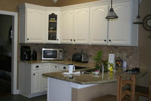 Color Schemes For Kitchens Painted Cabinets Off White Sw Kitchen