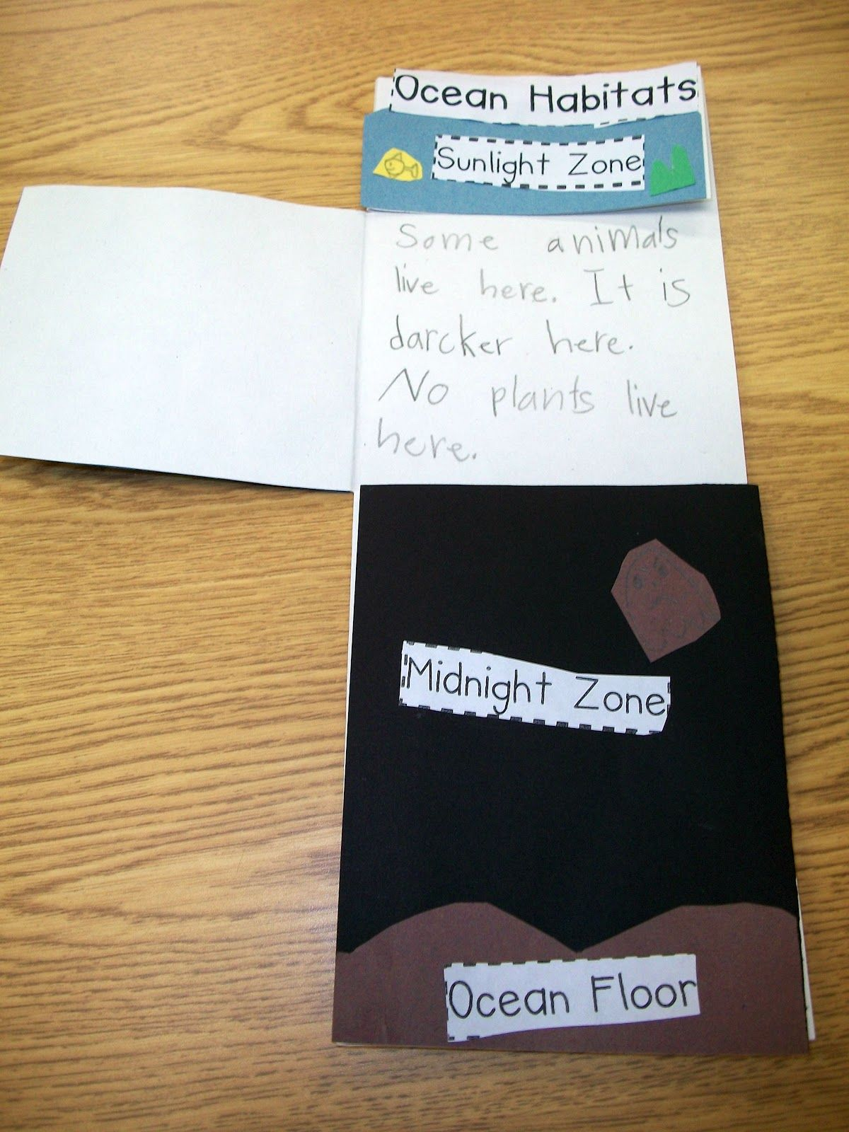 Here S A Nice Foldable Idea On The Zones Of The Ocean