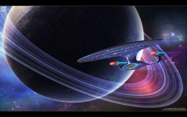 USS Enterprise NCC1701D free Star Trek computer