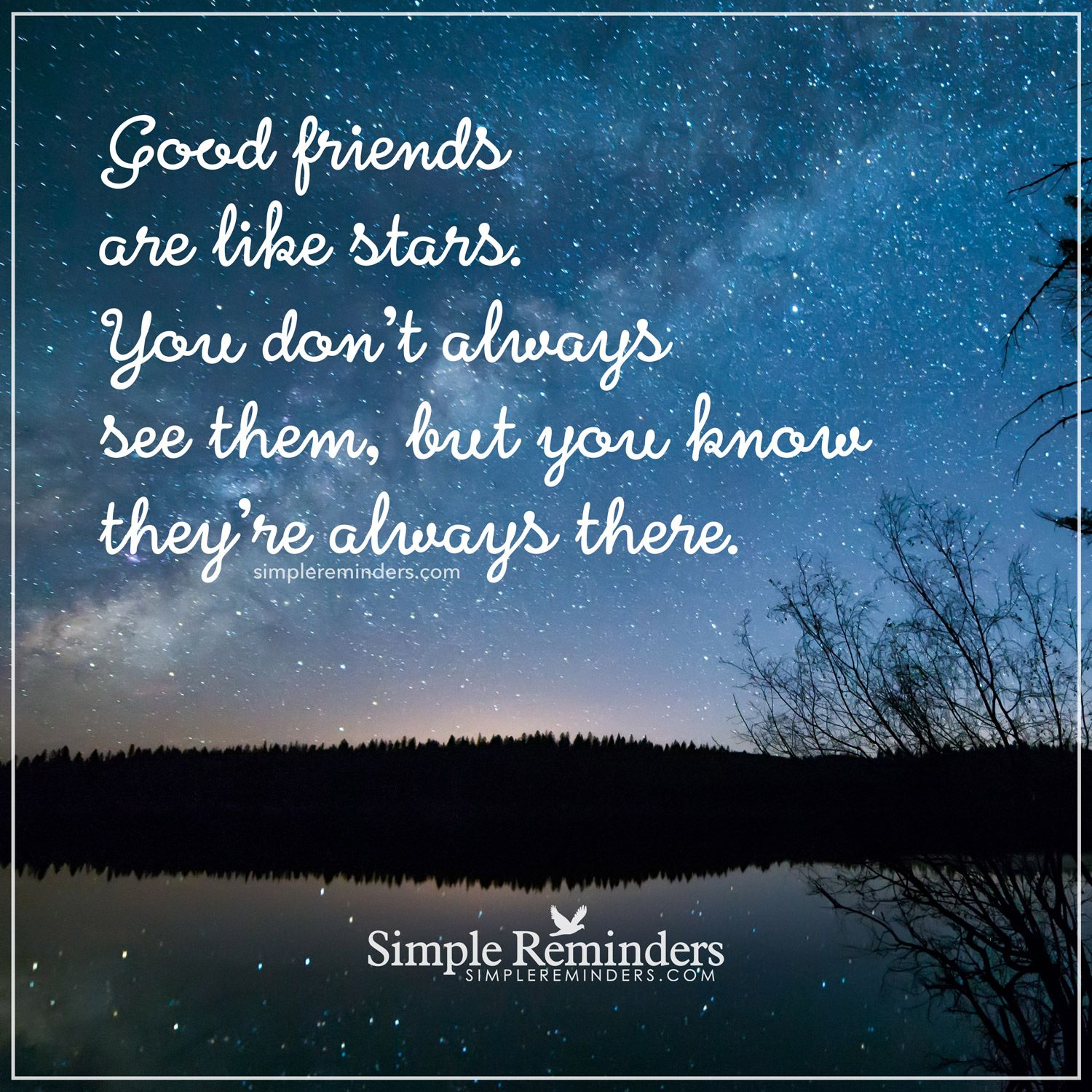 Good Friends Are Like Stars Good Friends Are Like Stars