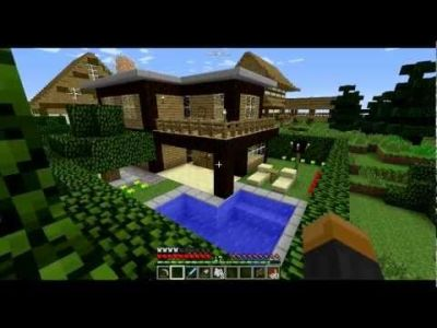 Maison minecraft simple   constructions minecraft   Pinterest Maison minecraft simple
