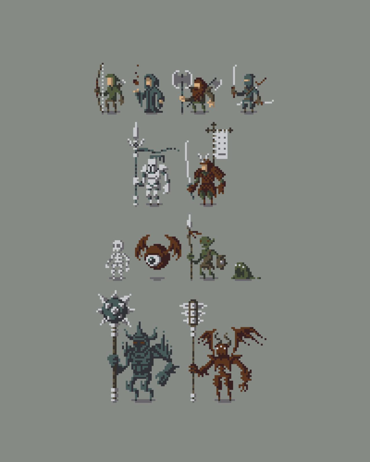 Best 25 Pixel Characters Ideas