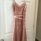 Lace dress rose  Dusty Rose Lace Dress  Rose lace Dusty rose and Lace dress