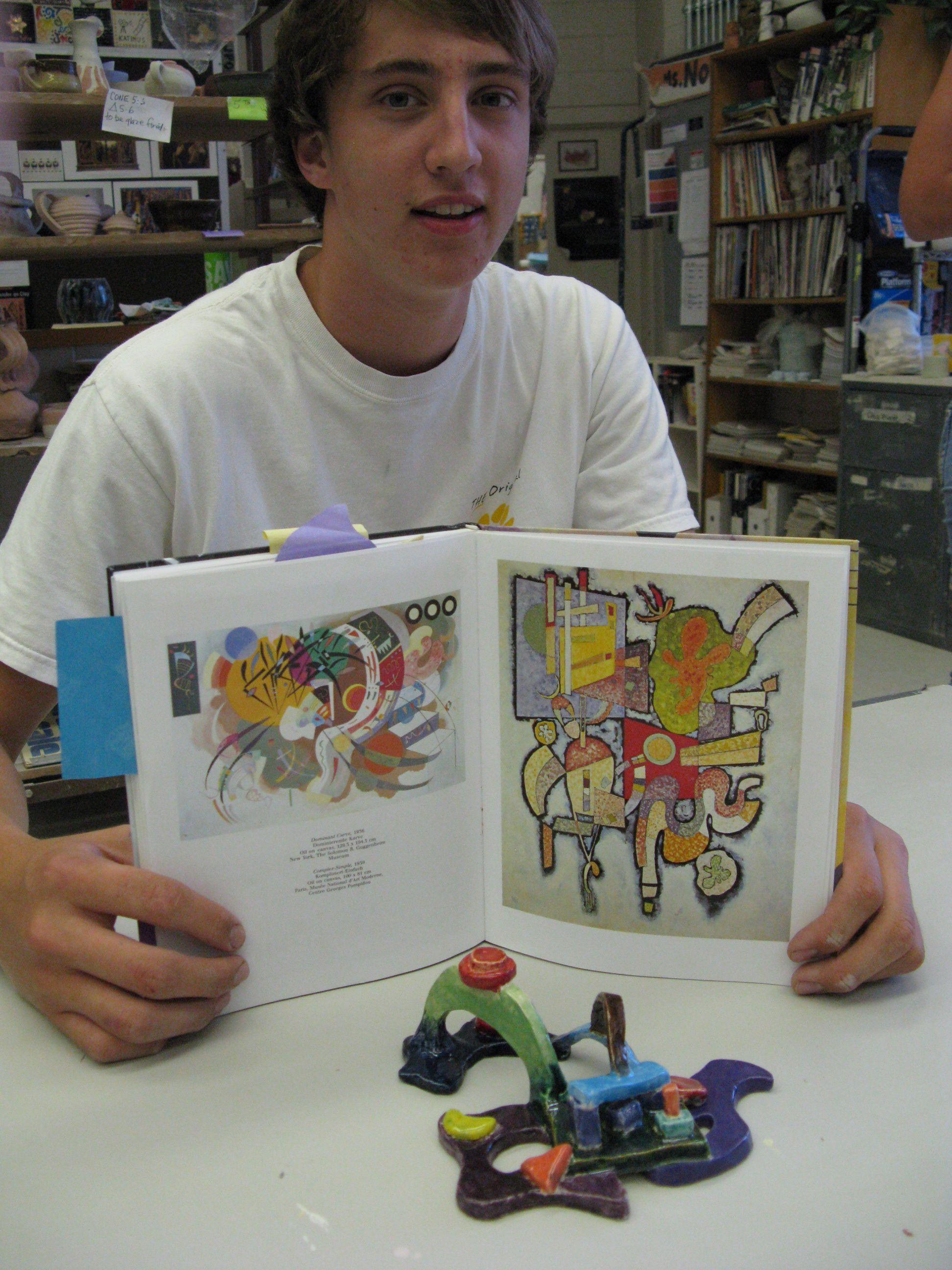 Interpretation Of Kandinsky Painting Have Kids Create A