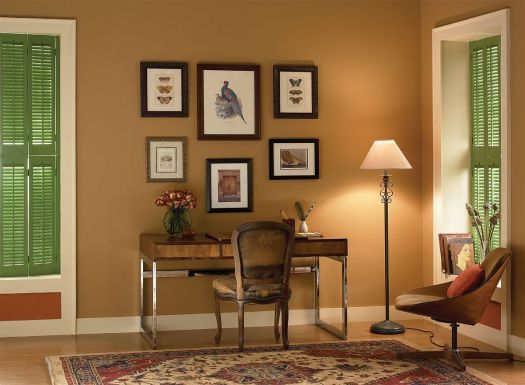 Warm Neutral Home Office Tyler Taupe Hc 43 Walls Cloud Living Room Colorsbest
