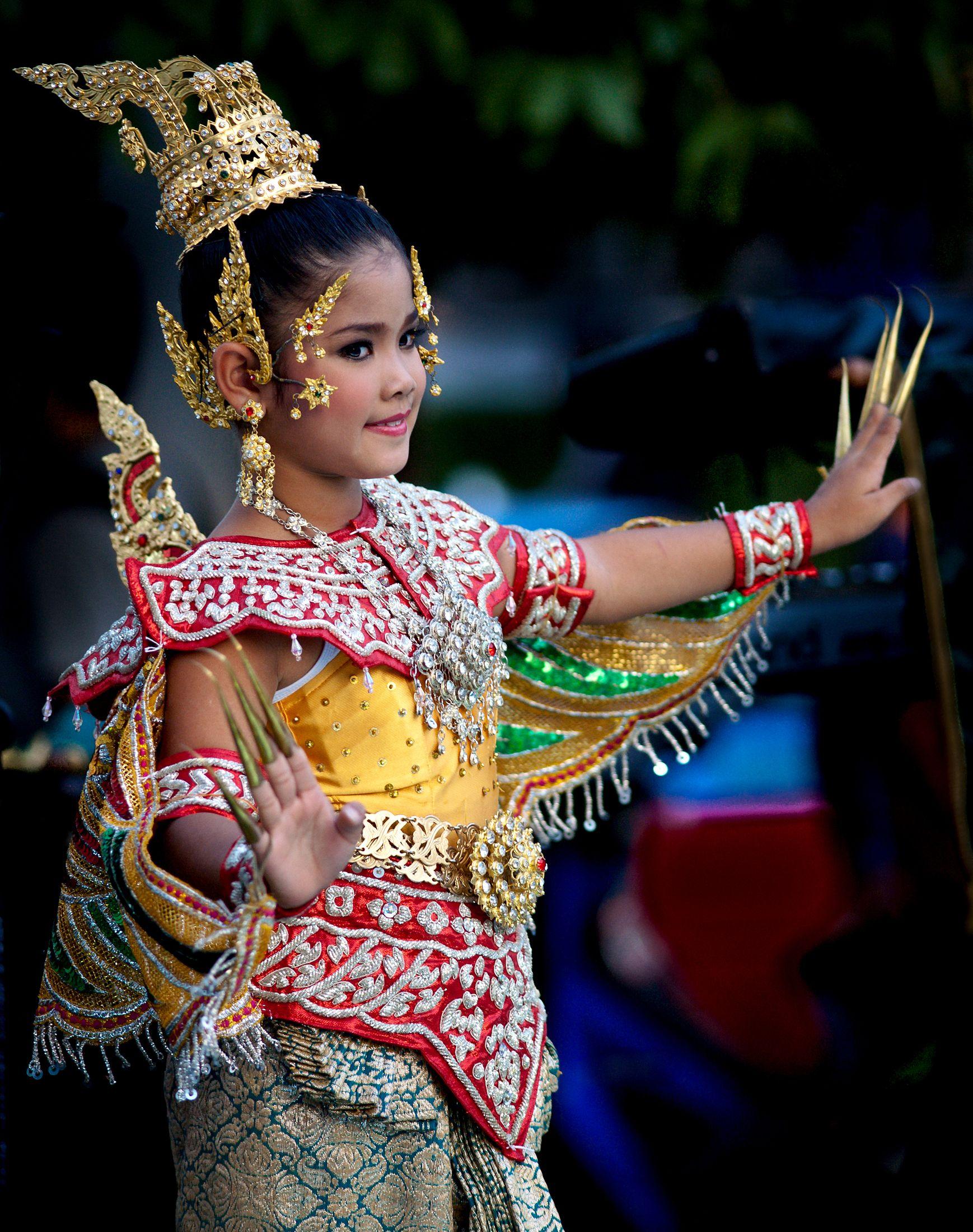 Thailand People Thai Dance