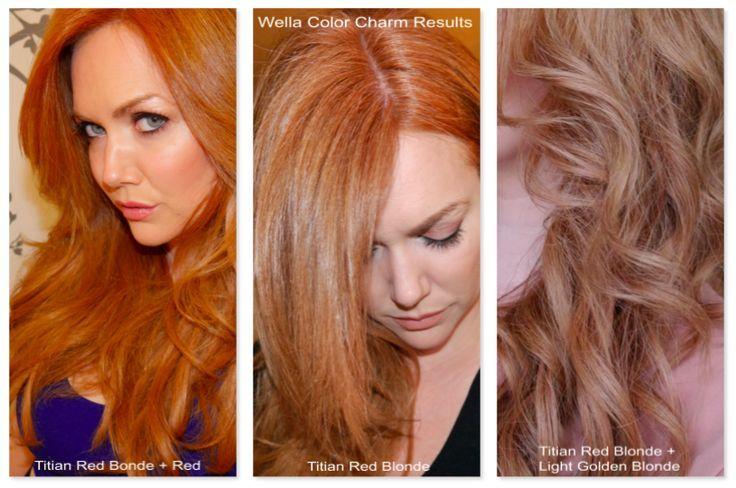 Wella Color Charm Liquid Permanent Hair Color 8RG729