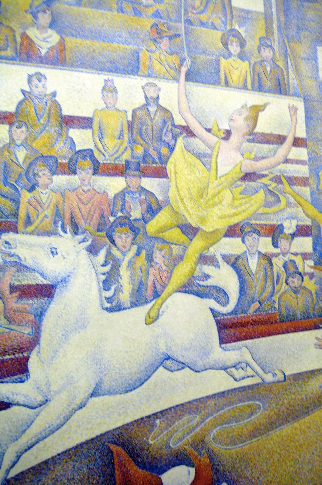 Georges Seurat Circus Oil On