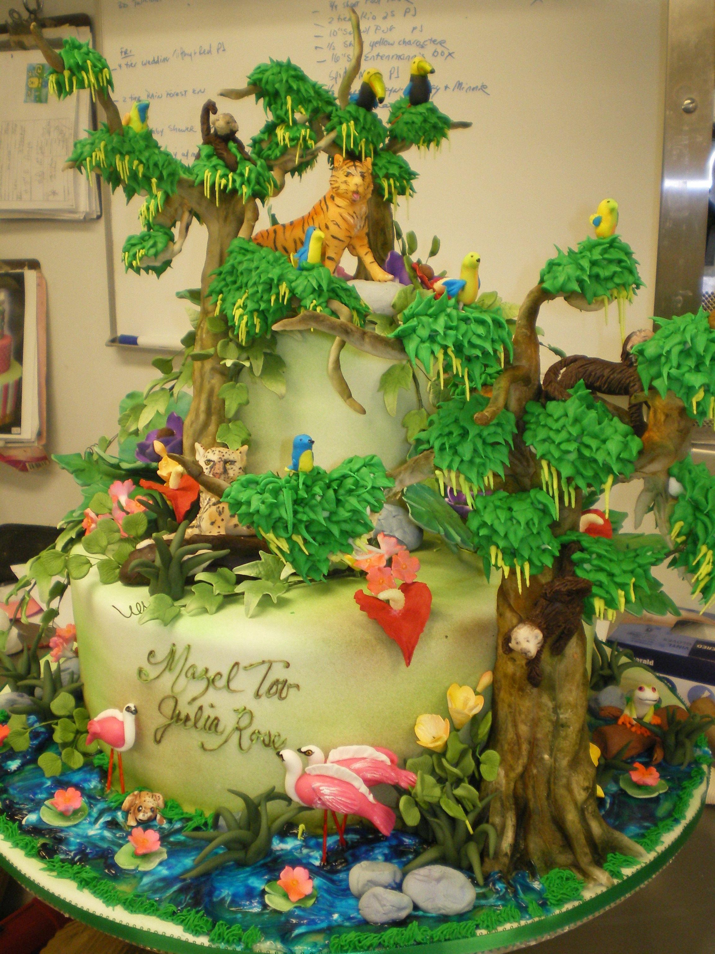 Forest Cake Project