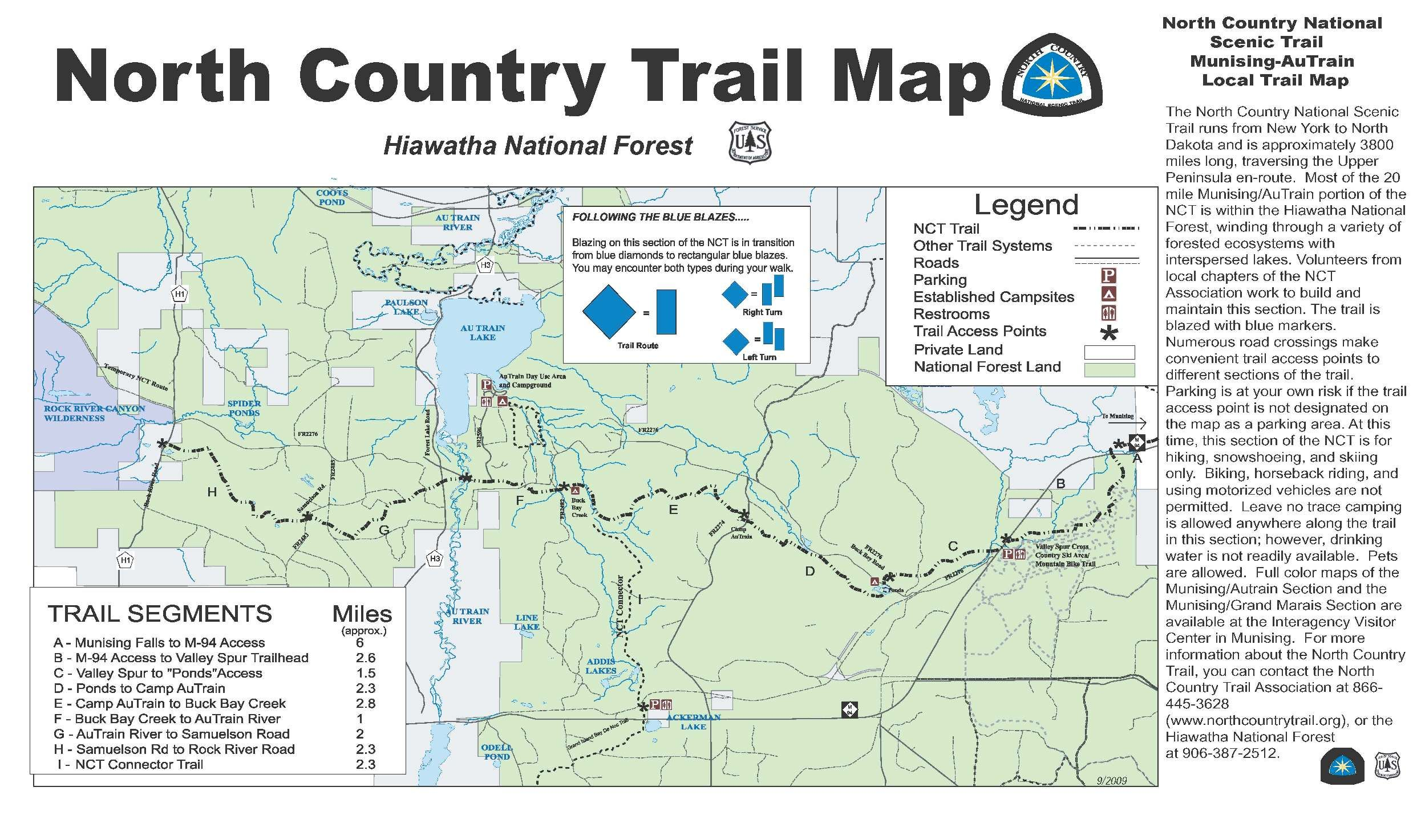 North Country National Scenic Trail Munising