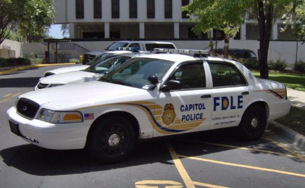 Florida State Capitol Police. | Ford Crown Vic Police Cars ...